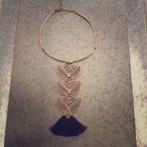 Stella & Dot Aida tassel necklace